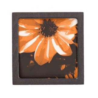 Orange Flower Premium Trinket Boxes