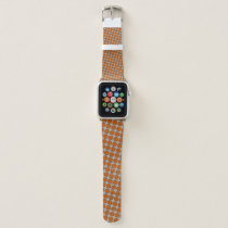 Orange Flower Ribbon by Kenneth Yoncich Apple Watch Band