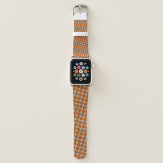 Orange Flower Ribbon by Kenneth Yoncich Apple Watch Band