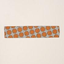 Orange Flower Ribbon by Kenneth Yoncich Scarf