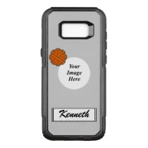 Orange Flower Ribbon Template by Kenneth Yoncich OtterBox Commuter Samsung Galaxy S8  Case
