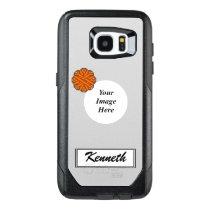 Orange Flower Ribbon Template by Kenneth Yoncich OtterBox Samsung Galaxy S7 Edge Case