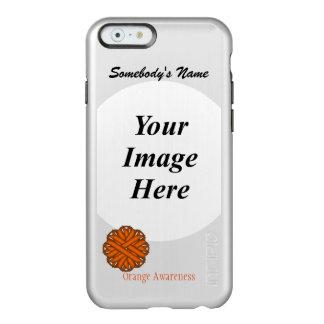 Orange Flower Ribbon Template Incipio Feather® Shine iPhone 6 Case