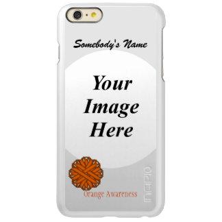 Orange Flower Ribbon Template Incipio Feather Shine iPhone 6 Plus Case