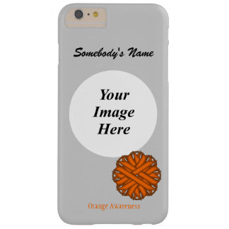 Orange Flower Ribbon Tmpl by Kenneth Yoncich Barely There iPhone 6 Plus Case
