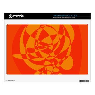 Orange Flower Netbook Skins