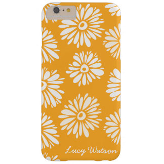 Orange Flowers Barely There iPhone 6 Plus Case