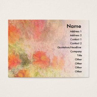Orange Flowers Impressionist Blend Profile Card