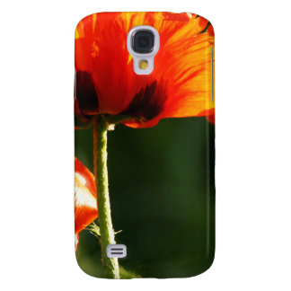 Orange Flowers in the Sun Galaxy S4 Covers