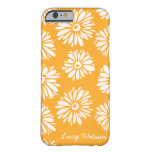 Orange Flowers iPhone 6 case iPhone 6 Case
