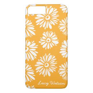 Orange Flowers iPhone 8 Plus/7 Plus Case
