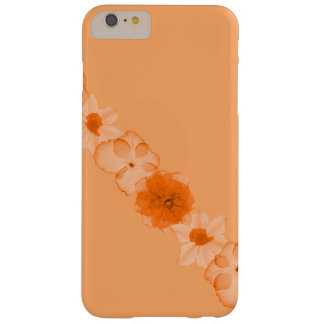Orange Flowers of Autumn Barely There iPhone 6 Plus Case