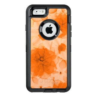 Orange Flowers OtterBox Defender iPhone Case