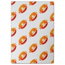 Orange Football Pattern Post-it Notes