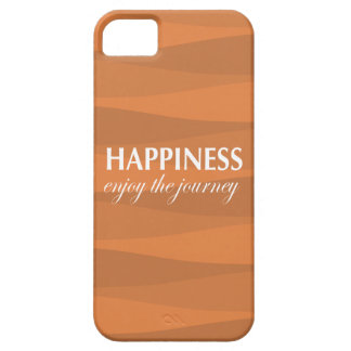 Orange for Happiness iPhone 5 Covers