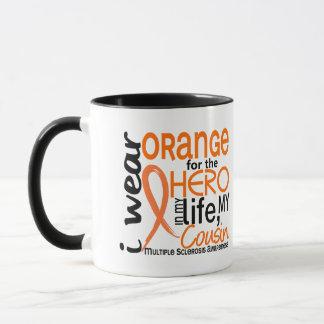 Orange For Hero 2 Cousin MS Multiple Sclerosis Mug