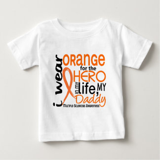 Orange For Hero 2 Daddy MS Multiple Sclerosis T Shirt