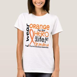 Orange For Hero 2 Grandma MS Multiple Sclerosis T-Shirt