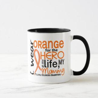 Orange For Hero 2 Mommy MS Multiple Sclerosis Mug