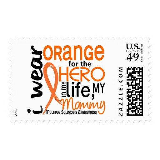 Orange For Hero 2 Mommy MS Multiple Sclerosis Stamp
