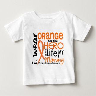 Orange For Hero 2 Mommy MS Multiple Sclerosis Shirt