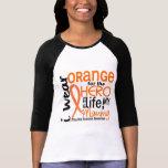 Orange For Hero 2 Mommy MS Multiple Sclerosis Tee Shirt