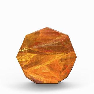 Orange Fractal Background Award