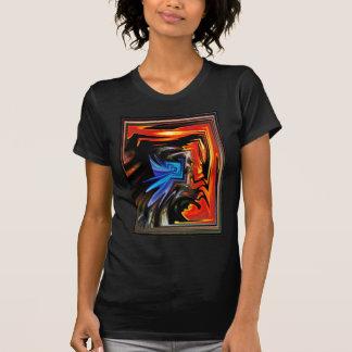 Orange Fractal Collection T Shirt