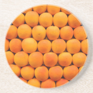 Orange Fresh Apricot Designs Coaster