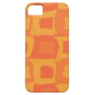 Orange Fruit Abstract Original Design Pattern iPhone SE/5/5s Case