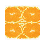 Orange Fruit Spirit Aesthetics Fine Art Canvas Print