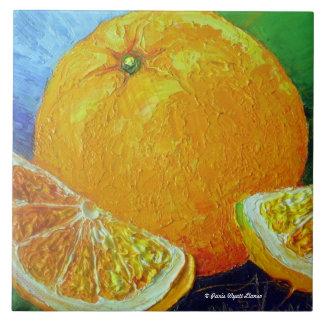 Orange Fruit Tile