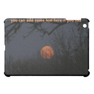 Orange Full Moon iPad Case