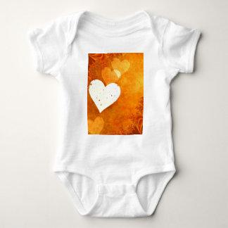 Orange Fun Baby Bodysuit