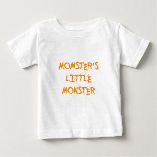 Orange Funny Momster's Little Monster Halloween T Shirt