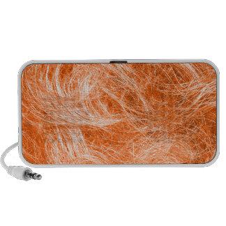 Orange Fur Mini Speakers