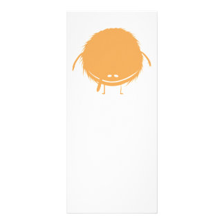 orange fuzzy duzzle monster rack cards