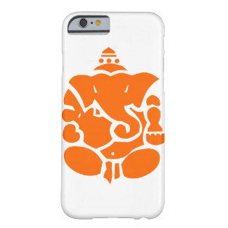 Orange Ganesha Illustration Barely There iPhone 6 Case