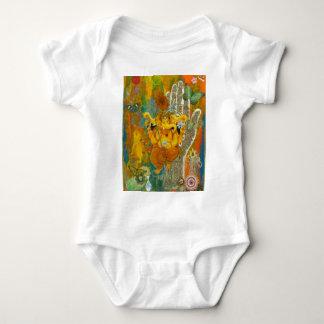 Orange Ganesha Infant Creeper