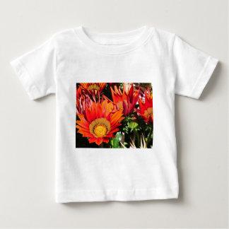 Orange Gazania flowers genus asteraceae Baby T-Shirt