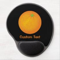 Orange Gel Mouse Pad