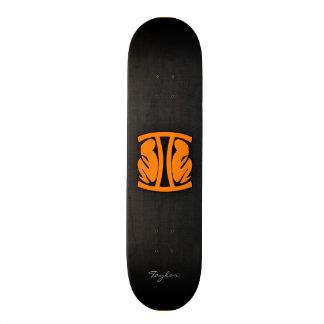 Orange Gemini Skate Board Decks