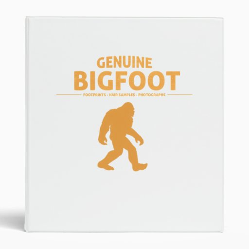 Orange Genuine Bigfoot Binders