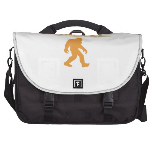 Orange Genuine Bigfoot Laptop Commuter Bag