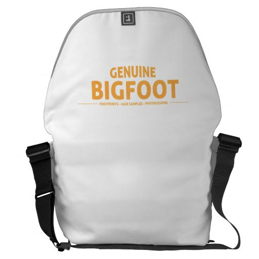 Orange Genuine Bigfoot Messenger Bag