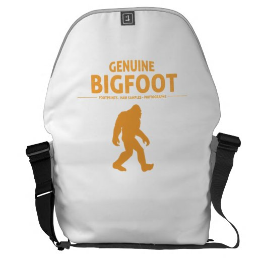 Orange Genuine Bigfoot Courier Bag