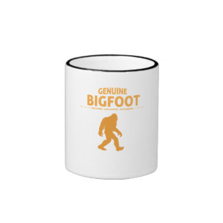 Orange Genuine Bigfoot Ringer Coffee Mug