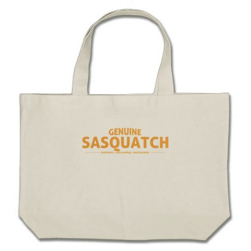 Orange Genuine Sasquatch Bag