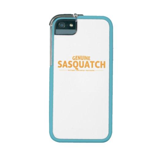 Orange Genuine Sasquatch Cover For iPhone 5