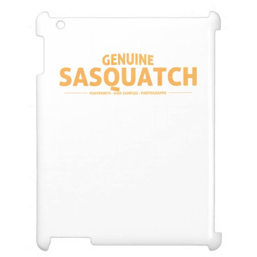 Orange Genuine Sasquatch Case For The iPad